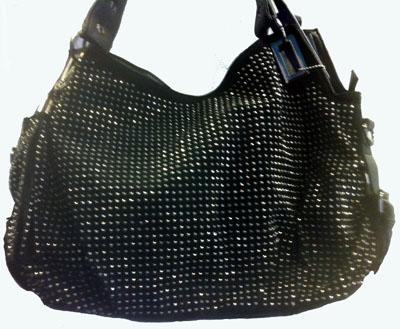Sophisticated Style Crystal Studded Handbag