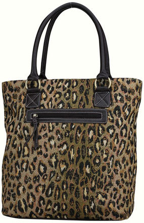 Sophisticated Style Leopard Tote